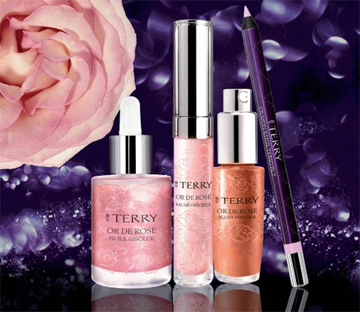 Collection Fascination Or de Rose By Terry