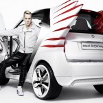 Jeremy Scott et sa smart fortwo electric drive
